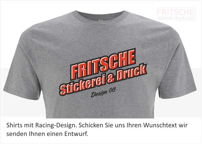 Racing Design im Siebdruck