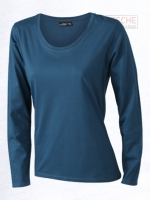 Ladies' Shirt Long-Sleeved Medium