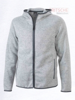 Men's Knitted Fleece Hoody