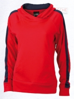 Ladies' Hooded Fleece Pull