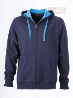 Men's Hooded Jacket Full-Zip