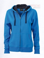 Ladies' Hooded Jacket Full-Zip