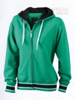 Ladies' Baseball Hooded Jacket