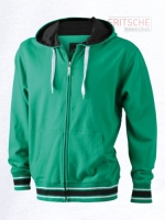 Men's Baseball Hooded Jacket