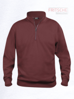 Basic Sweatshirt Half Zip